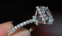 wedding diamonds engagement ring square cut