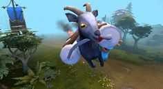 Dota 2, now with 100% more goats. (Almost)