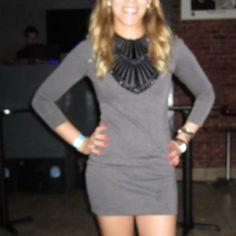 Armani Exchange 3/4 Sleeve Dress