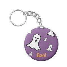 #Little Ghosts Halloween Key Chain - #Halloween #happyhalloween #festival #party #holiday