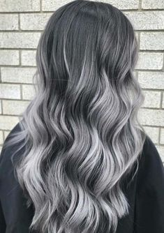 47 Incredible Silver Grey Hair Color Ideas for 2018. #hairdare Check out these different and unique silver hair color ideas to wear right now. We assure you this can be your next hair color to wear in year 2018. This is one of the hair colors which can be used easily with medium and long haircuts to make them look more fresh and modern. Silver grey hair color is now top trend.