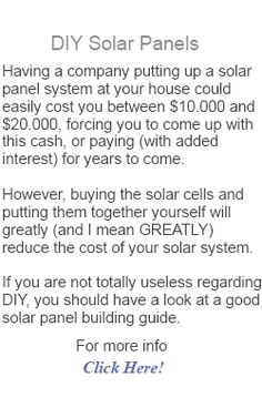 Plenty of people have been looking into installing solar panels in an effort to combat rising energy costs.When most of these people see the...