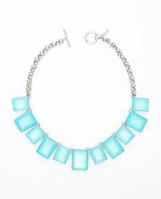 Ann Taylor Neon Lights Short Necklace