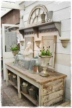 ber ideen zu shabby chic garten auf pinterest kronleuchter shabby chic und terrasse. Black Bedroom Furniture Sets. Home Design Ideas