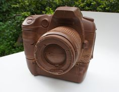 Nothing Says I Love You to Photo Geeks Like This Chocolate DSLR