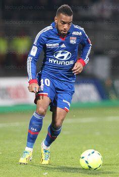 Alexandre Lacazette. Lyon/France