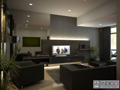 Decorated Self Modern #Living Rooms Match Wall Colors, Flooring & Sofas What You Choose For #interiors ?