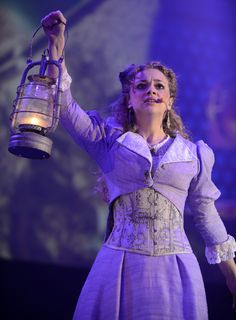 Carrie Hope Fletcher in War of the Worlds Theatre Nerds, Musical Theatre, Carrie Hope Fletcher, Ballet Theater, Theatre Costumes, Phil Lester, Character Costumes, Costume Design, Role Models