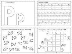 EDUCATIA CONTEAZA: Literele O, P, Q, W, Y Tracing Worksheets, Preschool Worksheets, First Grade, Alphabet, Bullet Journal, Smiley, Beauty Makeup, David, Kawaii