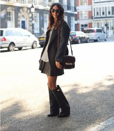 #fashion-ivabellini Irene's Closet - Fashion blogger outfit e streetstyle: Givenchy Fold-Over Knee Boots: tendenze A\I 2012- 2013 #3