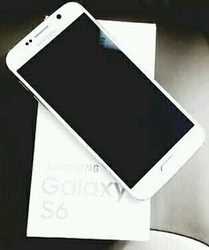 Galaxy Samsung S6 - I love white cell phones