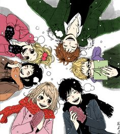 Orange (manga) by Takano Ichigo. It's makes me sad when I see Kakeru, but I'm also glad that Suwa and Naho are married in the end.