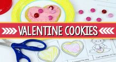 A how to decorate Valentine's Day cookies sequence printable for preschool, pre-k, or kindergarten kids. Teach sequencing skills with a Valentine theme. Valentines Songs For Kids, Valentine Sensory, Valentine Theme, Valentines Day Activities, Valentine Day Crafts, Playdough Activities, Literacy Activities, Preschool Music, Kindergarten Classroom
