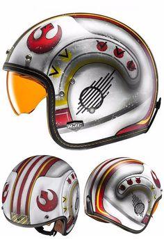 HJC IS-5 Star Wars Poe Dameron Open Face Helmet | #starwars