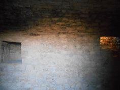 Interior de la torre del homenaje. Castillo de Atienza