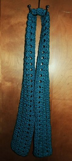 Free Crochet Scarf Pattern--Super Easy