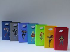 14 DC Superhero Girls Party Favor Bag  Candy by Lovelyhandscrafts