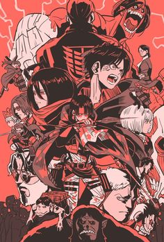 Over the course of its three season run, Attack on Titan has quickly become one of the most popular anime series of all time. Set in a world where humanity is trapped inside walls by man-eating Titans, the show Attack On Titan Fanart, Attack On Titan Anime, Manhwa, Film Animation Japonais, Poses Anime, Animes Wallpapers, Ereri, Anime Shows, Mikasa