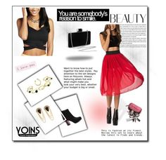 """""""Untitled #29"""" by asija25 ❤ liked on Polyvore featuring yoins and loveyoins"""
