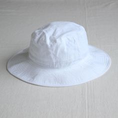ORGANIC COTTON HAT #white