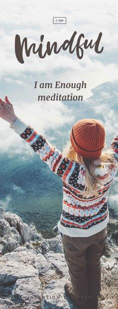 Feeling that you are 'not good enough' is a crippling self-doubt that can affect many areas of your life. With this simple meditation tool, you'll learn how to let go of judgmental thoughts and feel full of love within. How To Do Meditation, How To Start Meditating, Online Meditation, Meditation For Anxiety, Free Meditation, Morning Meditation, Learn To Meditate, Meditation For Beginners, Meditation Techniques