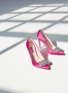 f3b7740f0e773 Uterqüe España Product Page - Calzado - Zapatos tacón - Salón raso rosa -  99 Accessori