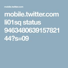 mobile.twitter.com li01sq status 946348063915782144?s=09