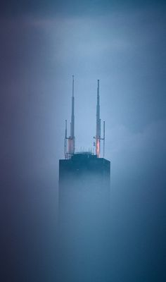 Sears Tower in fog | Flickr - Photo Sharing!