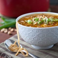 Pad Thai Soup   31 Easy Dinners With No Meat To Make In 2015