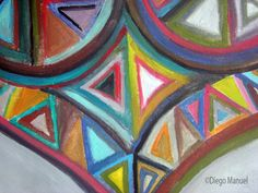 Heart picture abstract artwork by Diego Manuel