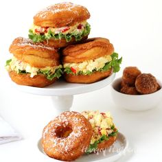 You'll never serve egg salad on white bread again, once you try this Donut BLT Egg Salad Strangewich. This unusual sandwich is even more amazing than...