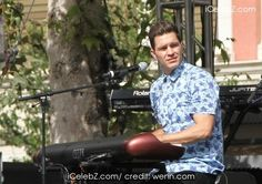 Andy Grammer Performing live on stage at The Grove in Hollywood http://icelebz.com/events/andy_grammer_performing_live_on_stage_at_the_grove_in_hollywood/photo1.html