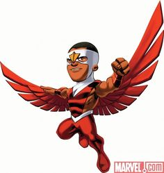 Marvel Super Hero Squad Falcon