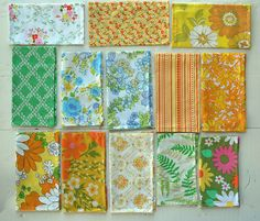 everyday napkins from vintage sheets