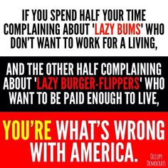 Don't be what's wrong with America!