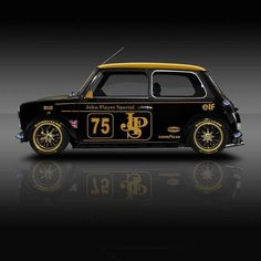 The post Classic Racing Legends, Mini JPS ? & cool cars appeared first on Cars. Mini Cooper Classic, Classic Mini, Classic Cars, Auto Retro, Retro Cars, Vintage Cars, Carros Suv, Austin Mini, Mini Copper