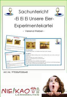 Sachuntericht - Ei Ei Ei Unsere Eier-Experimentekartei