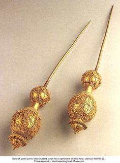 Ancient Greek pins