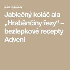 """Jablečný koláč ala """"Hraběnčiny řezy"""" – bezlepkové recepty Adveni"""