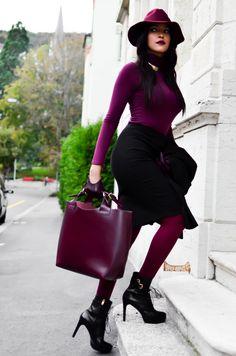 Swiss Blogger Patricia styles it beautifully in Switzerland