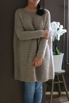 Oversized Chunky Knit Women Sweater Oversized Alpaca Chunky Chunky Knit Cardigan, Hand Knitting, Sweaters For Women, Pullover, Trending Outfits, Crochet, Handmade Gifts, Etsy, Vintage