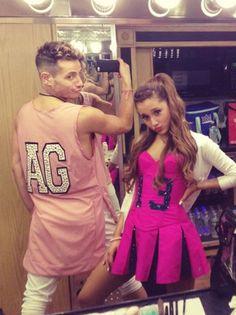 Frankie and Ariana