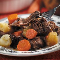 Gooseberry Patch Recipes: The Best Pot Roast Ever from Cook it Quick