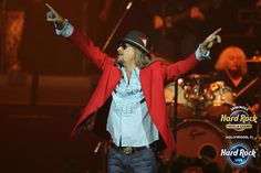 New Year's Eve rocked at Seminole Hard Rock Hotel & Casino Hollywood into 2013,  headlined by award-winning musician Kid Rock at Hard Rock Live.