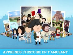 HISTOIRE - Histoire de France Junior est une encyclopédie de l'histoire de France, pour les enfants à partir de 6 ans. Cycle 3, Ludo, Social Studies, Ipad, Family Guy, History, Fictional Characters, Paris, Fun Learning