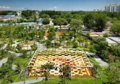 Indigo Park Playgrounds by Ballistic Architecture Machine (BAM)