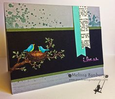 Blendabilities on Basic Black by melissabanbury - Cards and Paper Crafts at Splitcoaststampers Chalkboard Markers, Simply Stamps, Bee Cards, Alcohol Markers, Animal Cards, Copics, Card Tags, Stamping Up, Greeting Cards Handmade