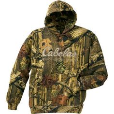 Cabela's Camo Athletic Hoodie - Black (M) $49.99