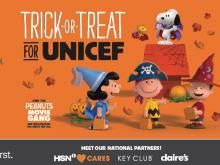 Get set with everything you need to Trick-or-Treat for UNICEF in your classroom, home or community! Print resources like a chart to map your progress this Halloween, lesson plans for your classroom or certificates for a job well done! Share our videos to introduce UNICEF's work to your school, friends and family. Looking for more resources? Order boxes today!