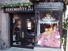 Serendipity!! in NY, loved that place